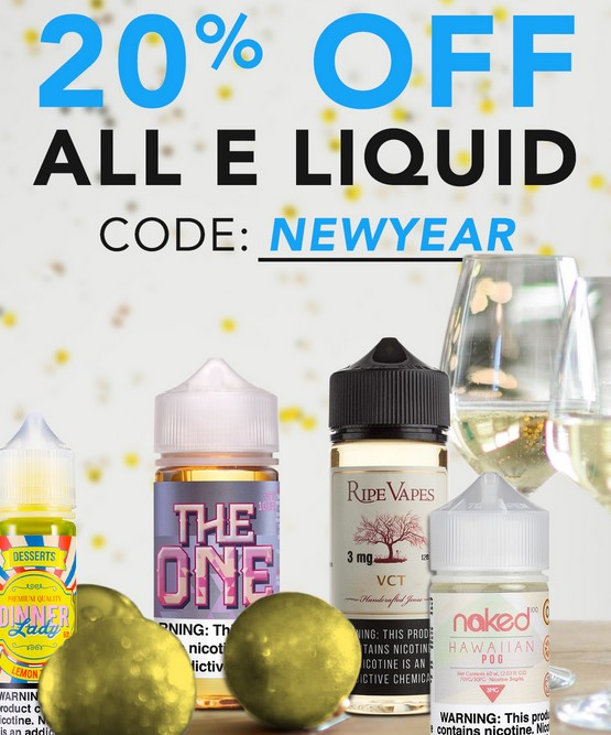 20% OFF EJUICE
