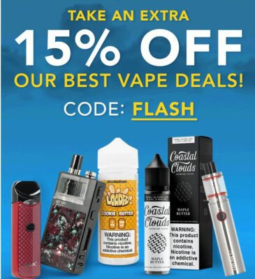 FLASH: TAKE AN EXTRA 15% OFF SALE ITEMS