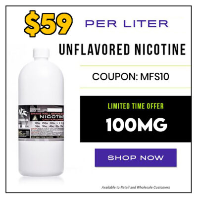 STOCK UP:  1 LITER – 100MG – NIC BASE – $59