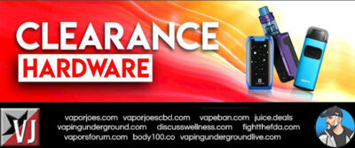 FLASH:  HARDWARE AND JUICE CLEARANCE