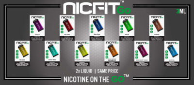 EXCLUSIVE: NICFIT GO 3ML DISPOSABLE (METAL)  – $4.99 EA