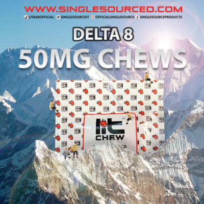 50MG: DELTA8 LITCHEWS ARE LIVE