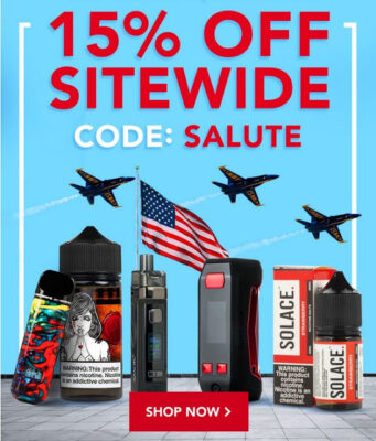 ARMED FORCES DAY: 15% OFF SITEWIDE