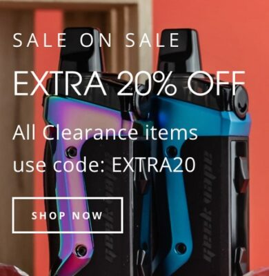 SALE ON SALE:  20% OFF ALL SALE ITEMS