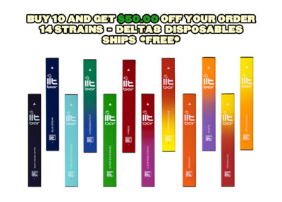 STAYLIT:  $50.00 OFF 10 DISPOSABLES + FREE SHIPPING