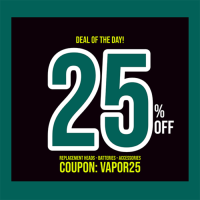 REUP: 25% OFF BATTERIES – REPLACEMENT HEADS – ACCESSORIES