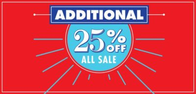FLASH: 25% OFF BATTERIES – REPLACEMENT HEADS – ACCESSORIES